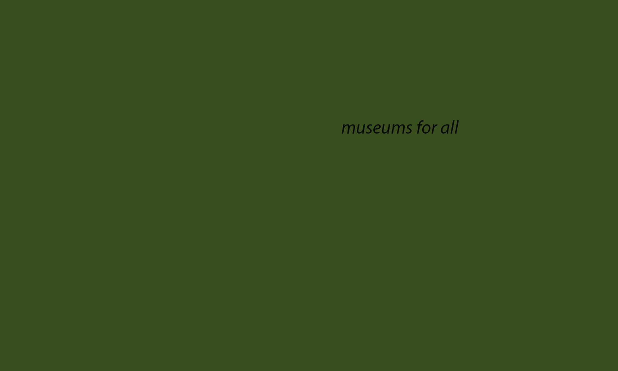 Fall 2019 - Museum Studies